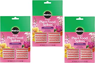 Miracle-Gro Orchid Plant Food Spikes (3)