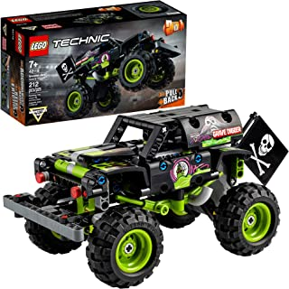 LEGO Technic Monster Jam Grave Digger 42118 Model Building Kit for Boys and Girls Who Love Monster Truck Toys, New 2021 (212 Pieces)