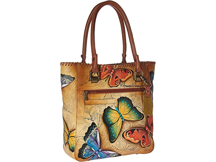 Anuschka Handbags Large Shopper 609 Earth Song
