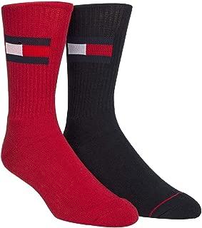 Tommy Hilfiger Men's 2 Pk Logo Crew Socks