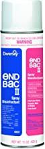 Diversey 04832 End Bac II Spray Disinfectant, Unscented, 15 oz Aerosol (Case of 12)