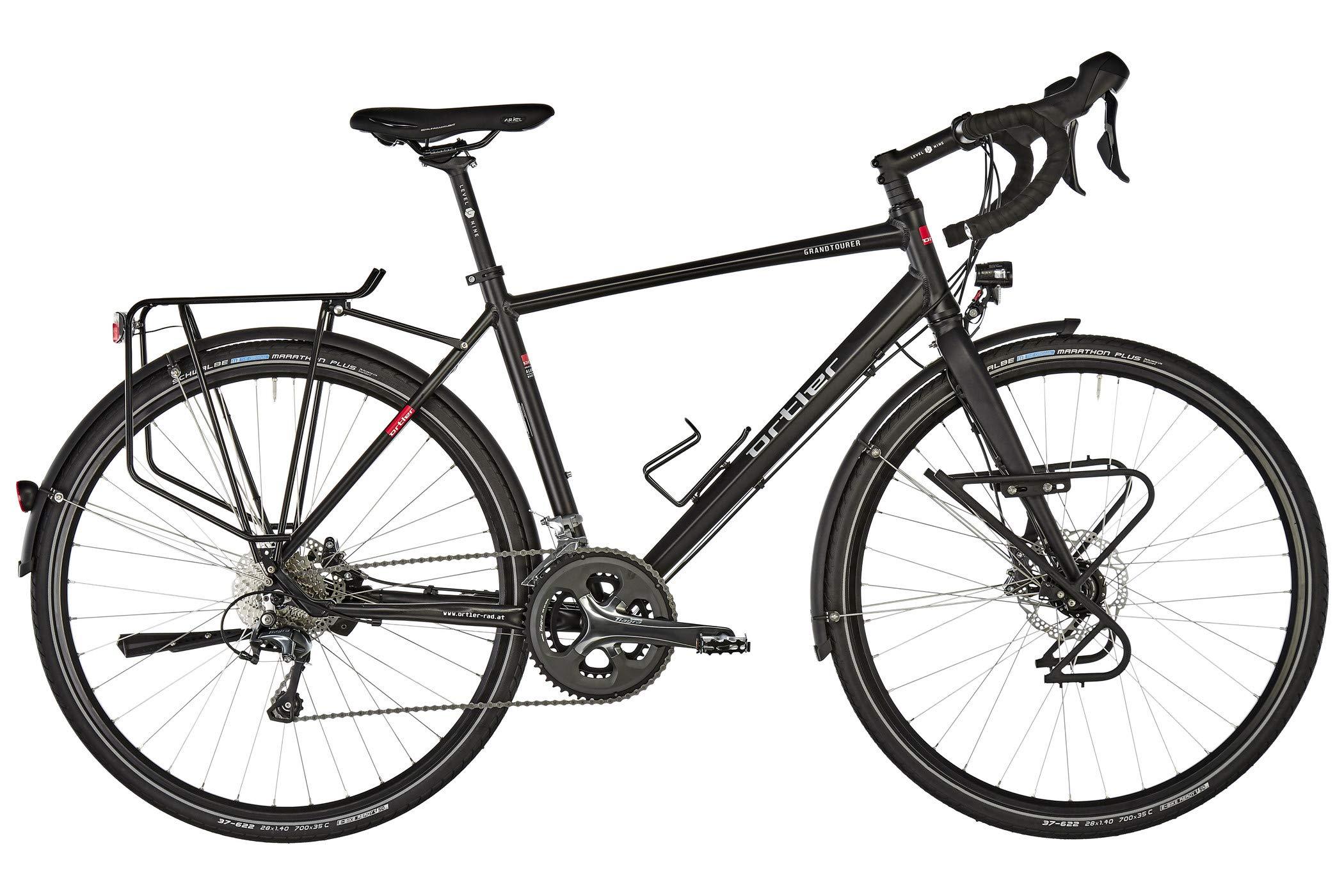 ORTLER Grandtourer EXP - Bicicletas Trekking - Negro Mate Tamaño ...