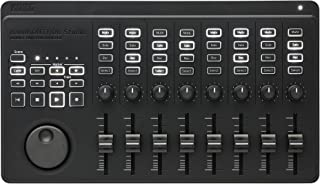 KORG 定番 USB/ワイヤレス オールインワン モバイルMIDIコントローラー nanoKONTROL Studio 音楽制作 DTM A4サイズ コンパクト設計で持ち運びに最適 すぐに始められるソフトウェアライセンス込み