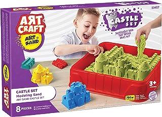 Dede Art Craft Kinetik Oyun Kumu Kale Seti