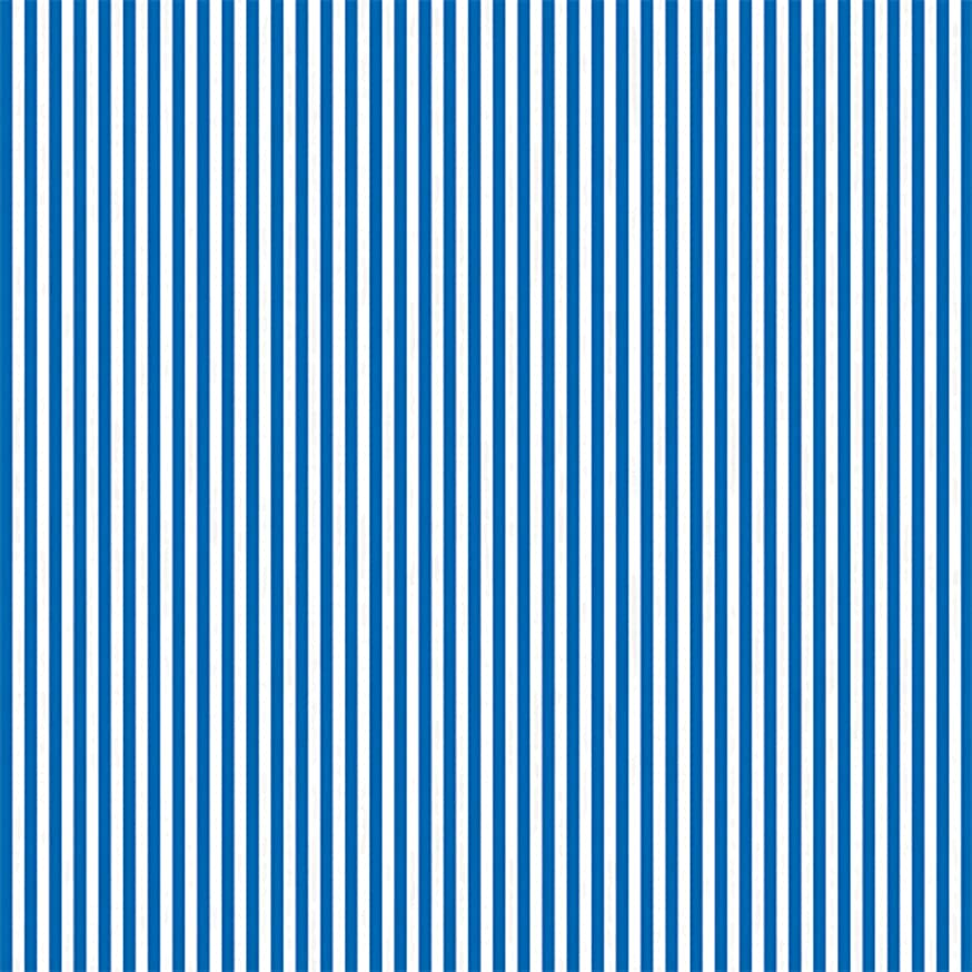 Royal Blue Stripe Tissue Paper Party Accessory