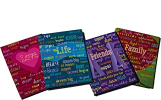 Ultra Pro Life Series 4 by 6-Inch Photo Album, Mini, 4-Pack