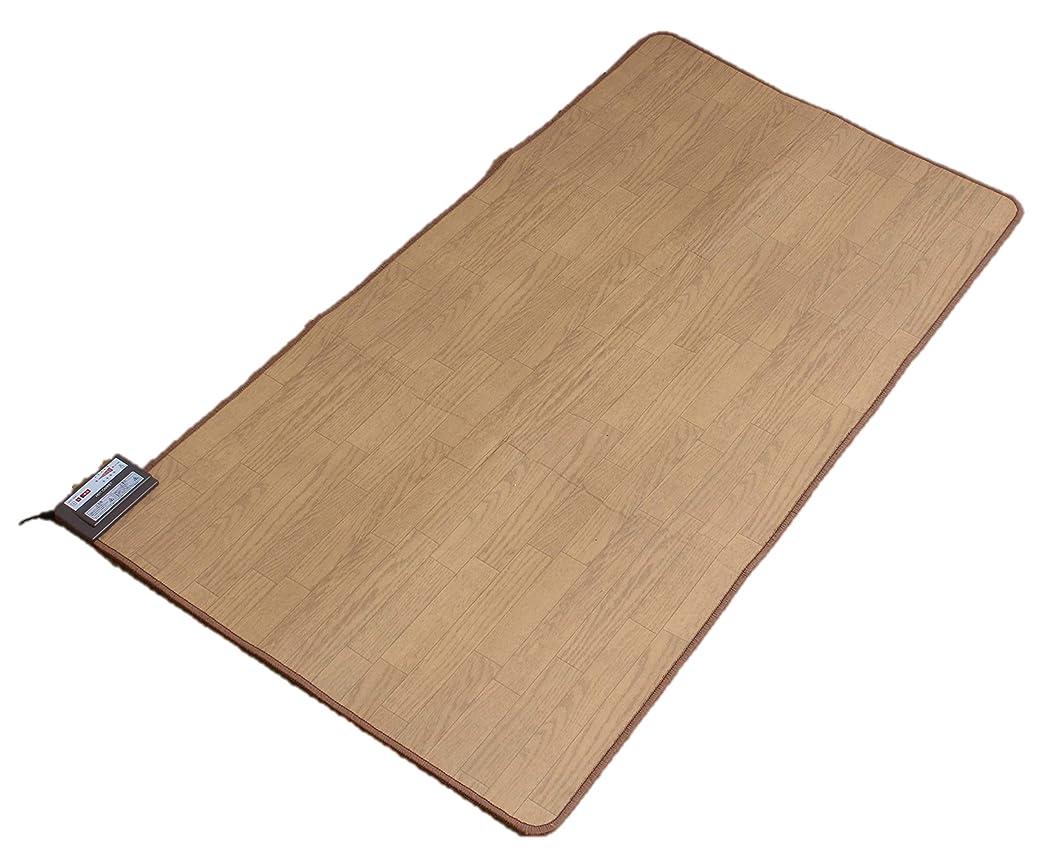 公平な作詞家食堂木目調ホットカーペット 1.5畳 THT-1500