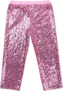 pink sequin pants toddler