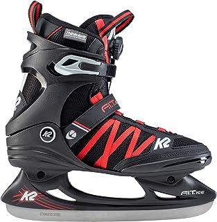 K2 Skates F.I.T. - Patines en línea para Hombre Ice Boa - Patines de Hielo (Tallas 39-25D0401.1.1.065), Color Negro