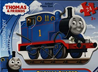 Ravensburger Thomas & Friends: Thomas The Tank Engine 24 Piece Shaped Floor Jigsaw Puzzle for Kids – Every Piece is Unique...