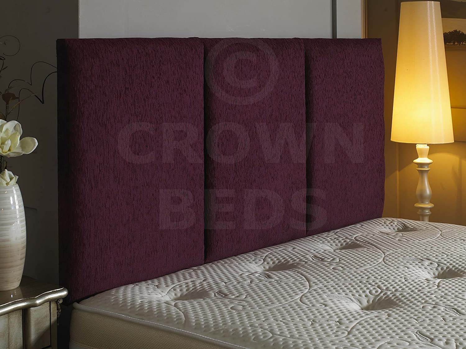 fast shipping to you CROWNBEDSUK quality alton chenille headboard ...