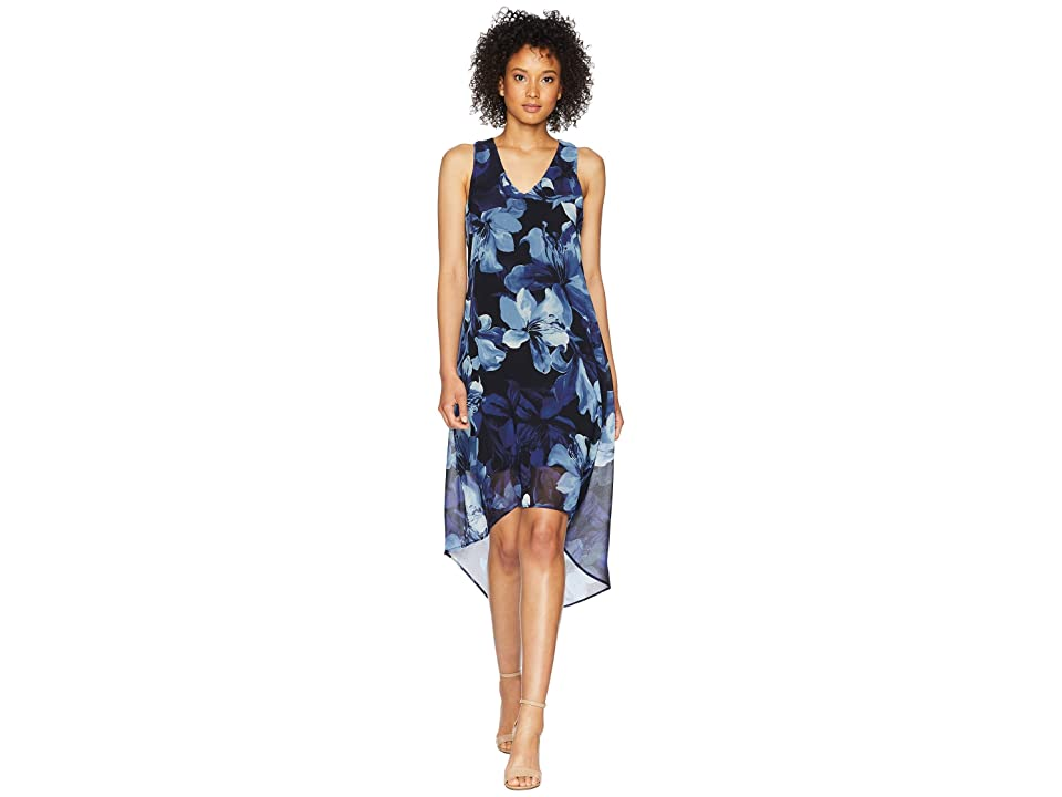 Karen Kane Hi-Lo Hem Dress (Print) Women