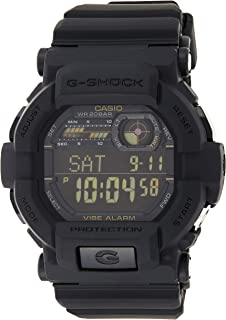 Casio Mens Quartz Watch, Digital Display and Plastic Strap GD350-1B