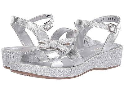 Kid Express Izabelle (Little Kid/Big Kid) (Silver Combo) Girls Shoes