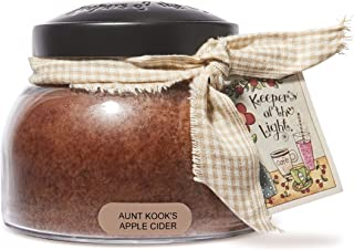 A Cheerful Giver Aunt Kook's Apple Cider Baby Jar Candle Mama, 22oz JM16