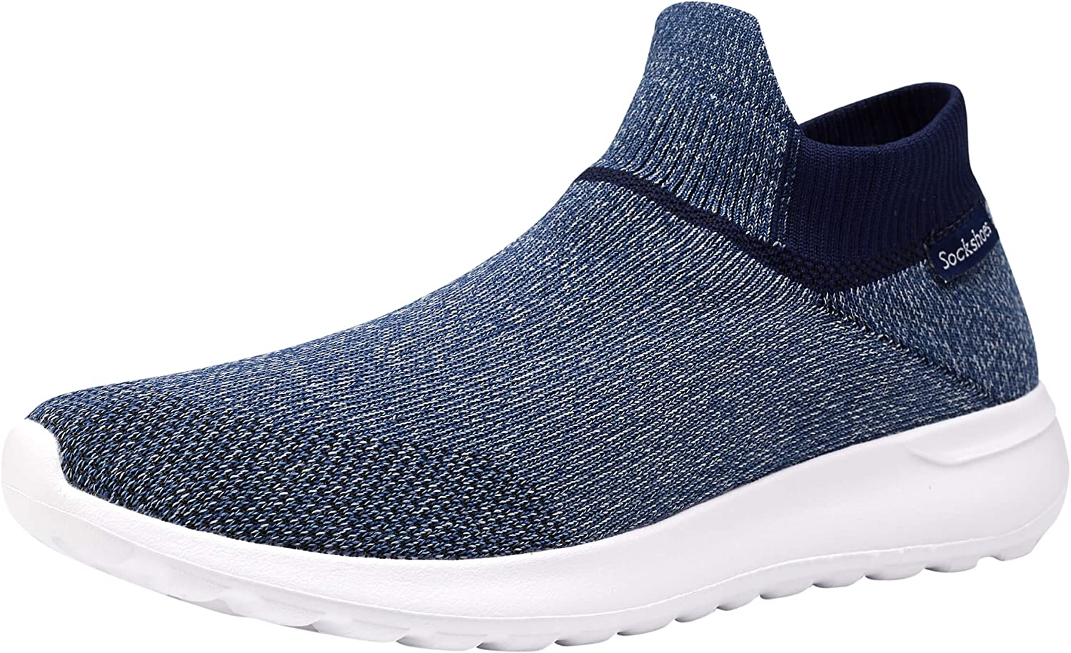 Phefee Mens Ultrasock shoes Fashion Casual Walking Sneakers for Lightweight and Super Soft Footwear