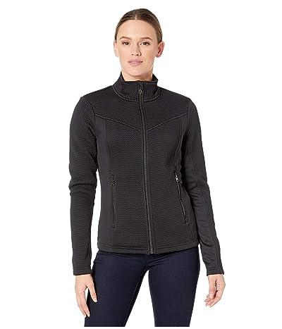 Spyder Encore Full Zip Fleece Jacket (Black) Women