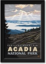 "Northwest Art Mall Cadillac Mountain Acadia National Park Framed Art Print by Paul A. Lanquist. Print Size: 12"" x 18"" Framed Art Size: 14"" x 20"""