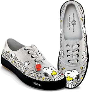 Peanuts Happiness is Friendship Women's Shoes with Peanuts Characters Snoopy and Woodstock by The