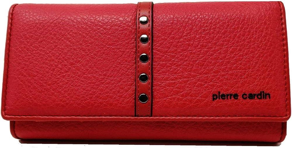 Pierre cardin ,portafoglio,portamonete,portacarte per donna,in ecopelle