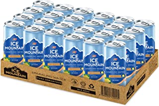 Ice Mountain Sparkling Yuzu Osmanthus 24S Cans, 325 ml (Pack of 24)
