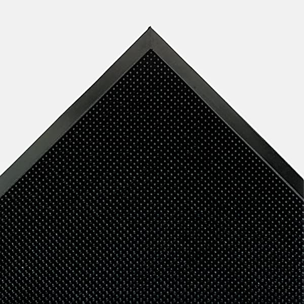 Crown Mats Scraper Building Entrance Mat Molded Rubber 2400 Fingertips Sq Ft Professional Heavy Traffic 72 X 36 100 Mat A Dor