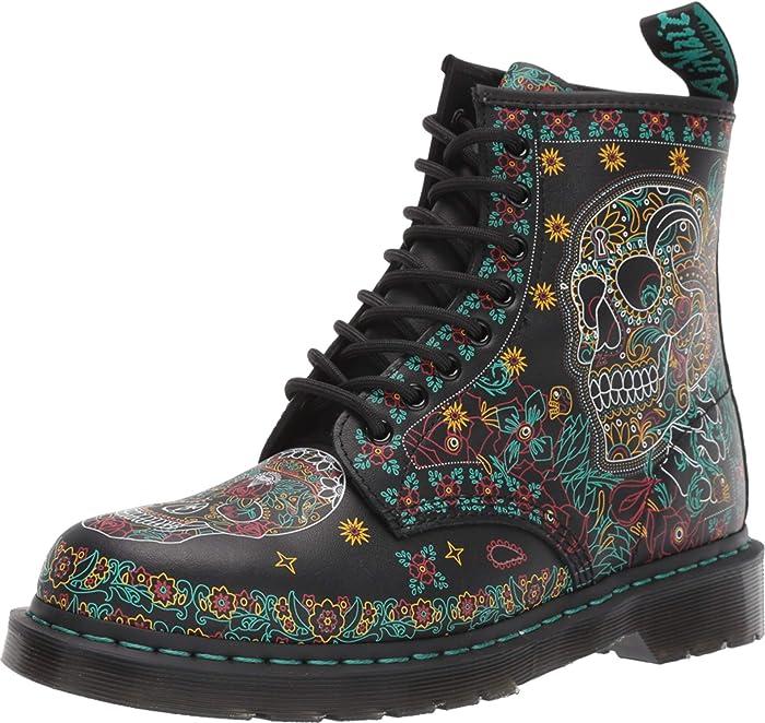 1460 Skull Backhand Boot