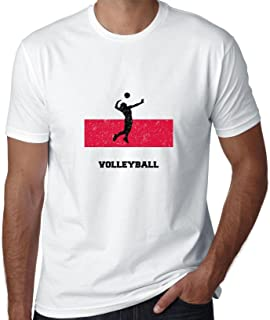 Hollywood Thread Poland Olympic - Volleyball - Flag - Silhouette Men's T-Shirt
