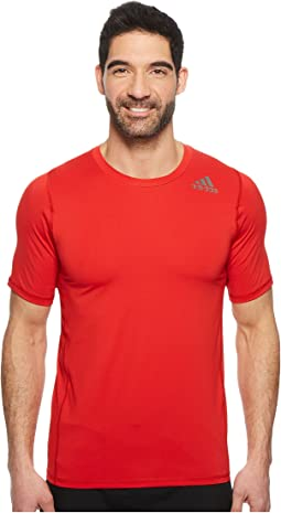 adidas Alphaskin Sport Fitted Short Sleeve Tee