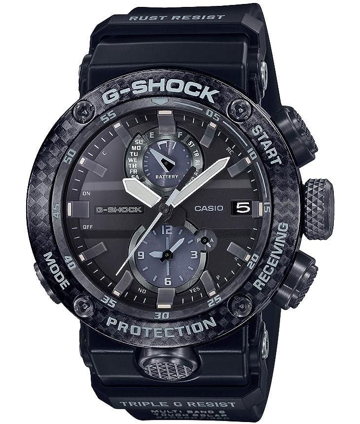 背が高いリスナー絶滅[カシオ]CASIO 腕時計 G-SHOCK ジーショック Bluetooth 搭載 電波ソーラー カーボンコアガード構造 GWR-B1000-1AJF メンズ
