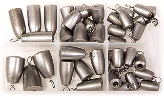 Bullet Weights Ultra Steel Bass Casting Sinker Kit (42 Piece Kit)