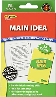 Best main idea cards Reviews