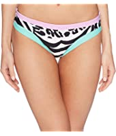 Cayo Setia Color Block Full Ruched Back Bottom