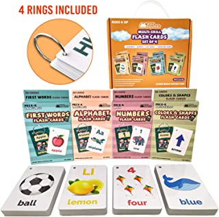 Abc Flash Cards For Toddlers 2-4 Years