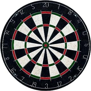 Trademark Games Bristle Dart Board with Metal Wire Spider – Professional Regulation Size Tournament Set with 6-17 Gram Ste...