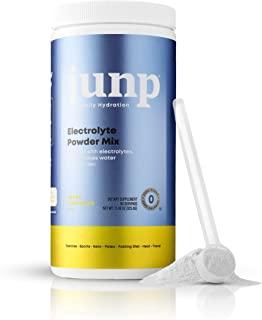 JUNP Hydration Electrolyte Powder, Electrolytes Drink Mix Supplement, Zero Calories Sugar and Carbs, Kosher, Berry Lemonad...