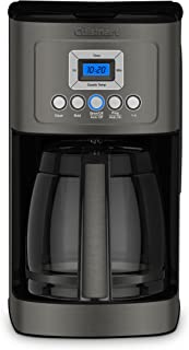 Cuisinart DCC-3200BKSP1 Perfectemp CoffeeMaker Coffee Maker, 14 Cup, Black Stainless Steel