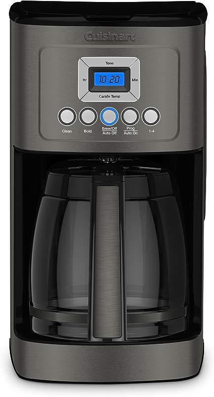 Cuisinart DCC 3200BKS Perfectemp Coffee Maker Black Stainless Steel