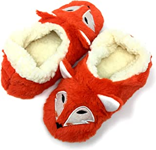 Funny Fluffy Animal Womens Sherpa Slippers