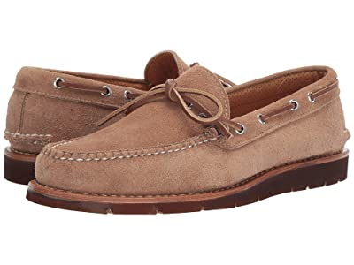 Sperry Gold Cup Handcrafted in Maine 1-Eye Camp Moccasin (Camel Brown) Men