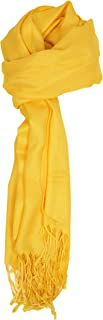 Love Lakeside-Large, Soft, Silky Pashmina Shawl, Wrap, Scarf in Solid Colors