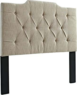 Amazon Com Pulaski Mirabella Tufted Panel Headboard With
