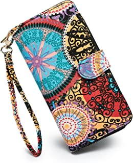 Women's New Design Bohemian Style Purse Clutch Bag Card Holder New Fashion Wristlets Wallets
