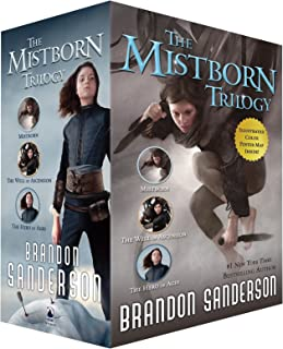Mistborn Trilogy TPB Boxed Set: Mistborn, The Well of Ascension, and The Hero of Ages