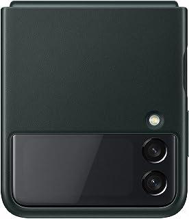 Samsung Galaxy Z Flip3 Leather Cover - Officiële Samsung Case - Groen