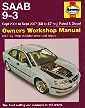 Saab 9-3 Petrol and Diesel Service and Repair Manual 2002 to 2007