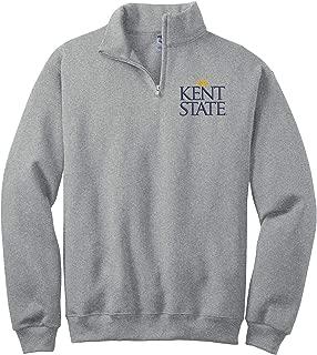Sorority Letters Shop Kent State University Quarter Zip Cadet Collar Sweatshirt