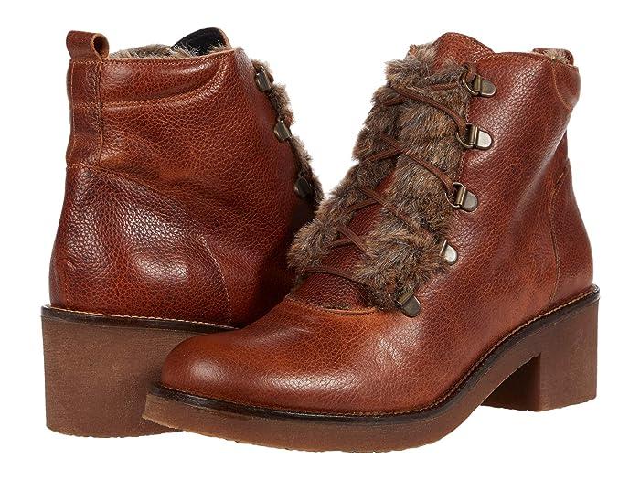 Vintage Boots- Winter Rain and Snow Boots History Toni Pons Pont-Pof Tan Womens Boots $210.00 AT vintagedancer.com