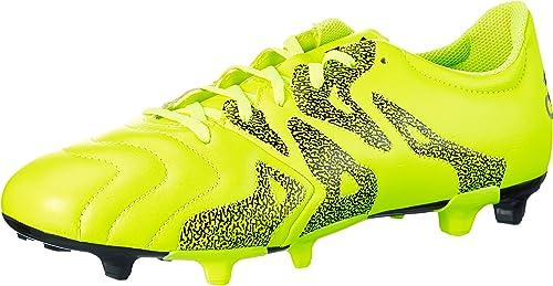 Adidas X 15.3 FG AG Cuir Cuir - Chaussures de Foot  populaire