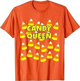 Halloween Candy Corn t shirt: Candy Queen